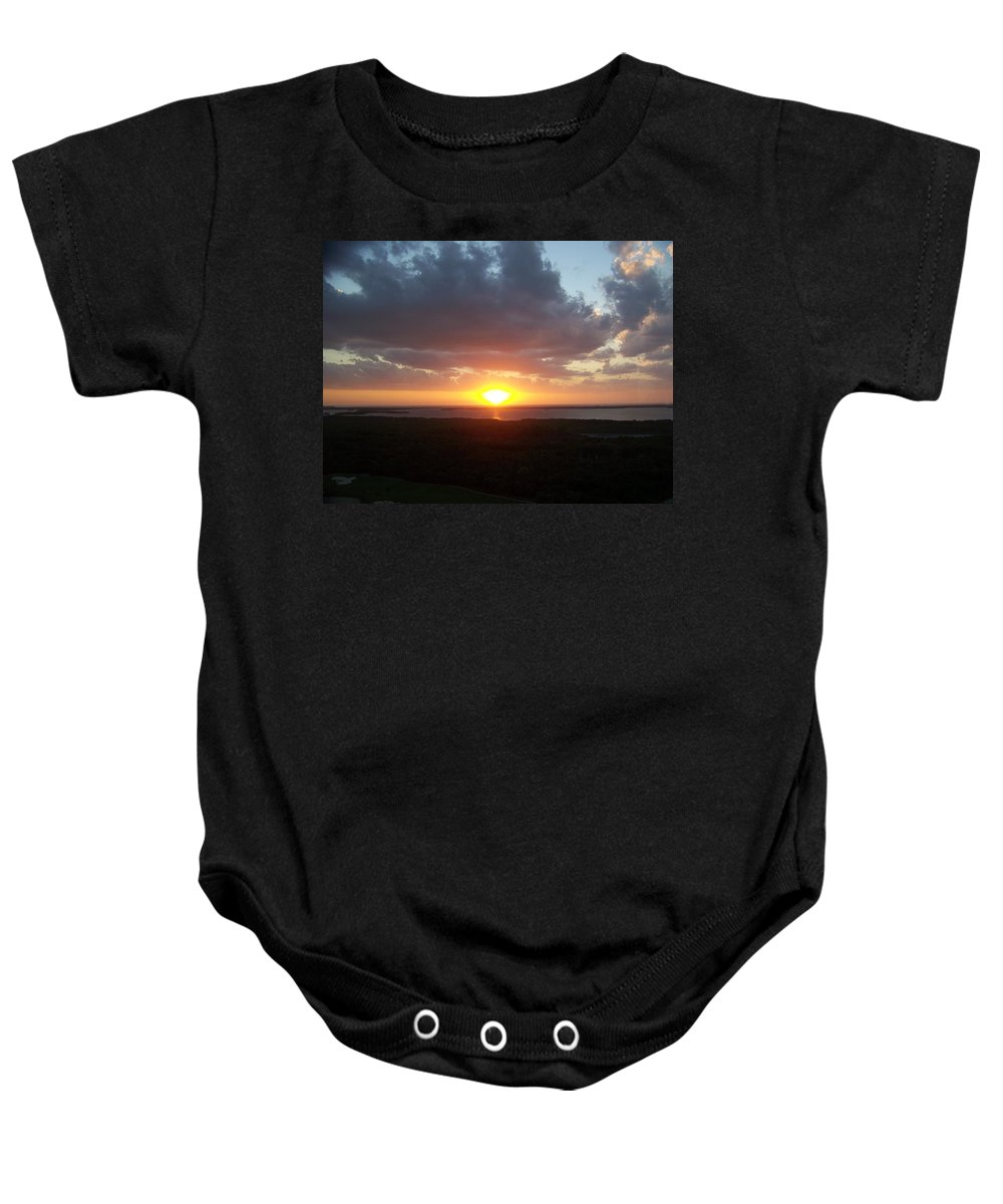 Sunset Baby Onesie featuring the photograph Sunset 0026 by Laurie Paci