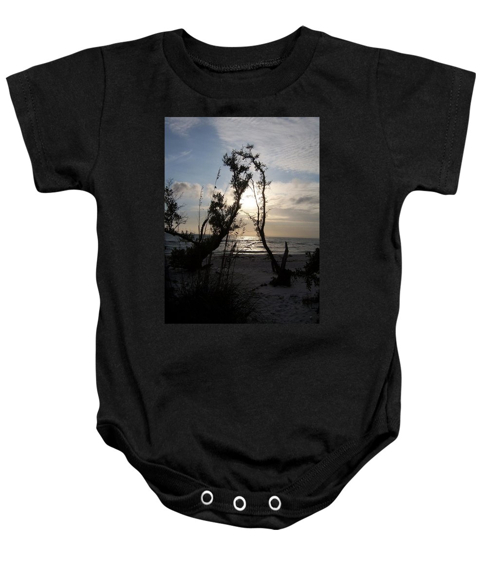 Sunset Baby Onesie featuring the photograph Sunset 0027 by Laurie Paci