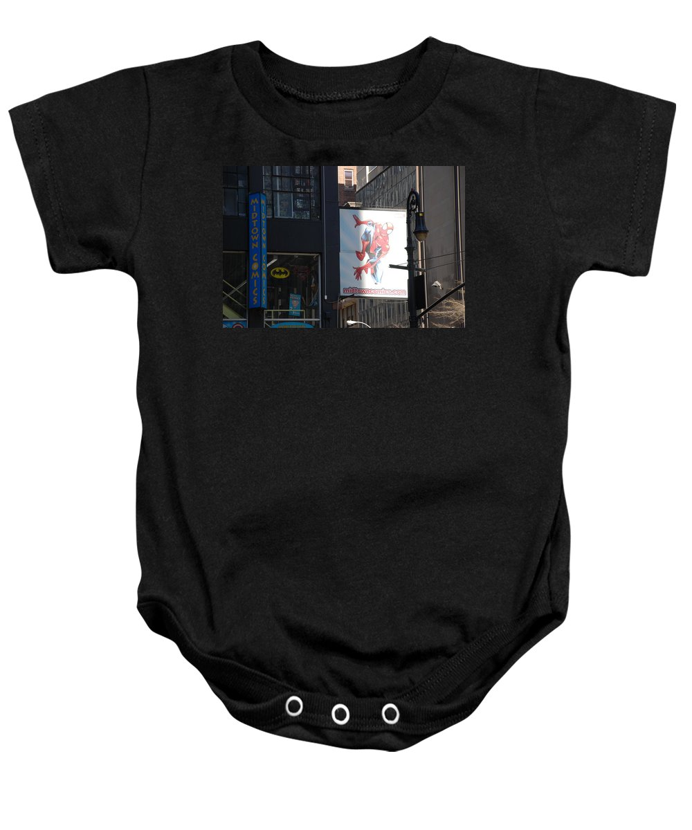 Comic Book Baby Onesie featuring the photograph Super Heros by Rob Hans