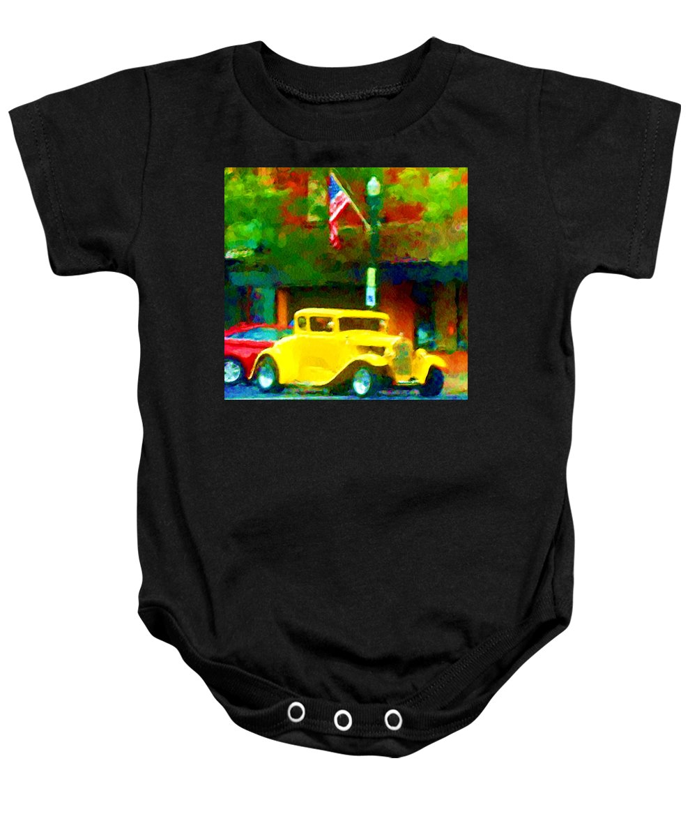 Hot Rod Baby Onesie featuring the photograph Sweet Ride by David Lane