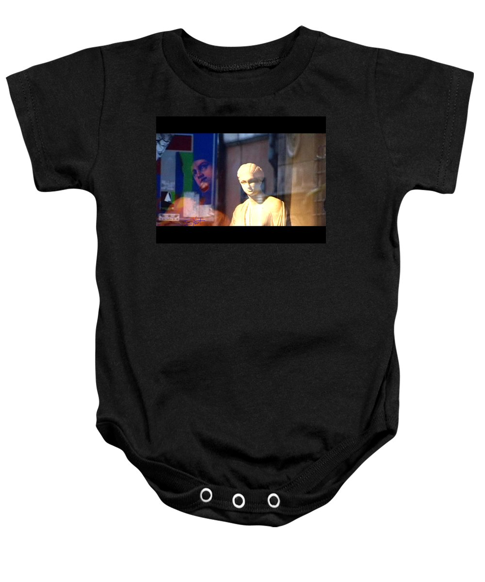 Rome Baby Onesie featuring the photograph Tableau by Charles Stuart