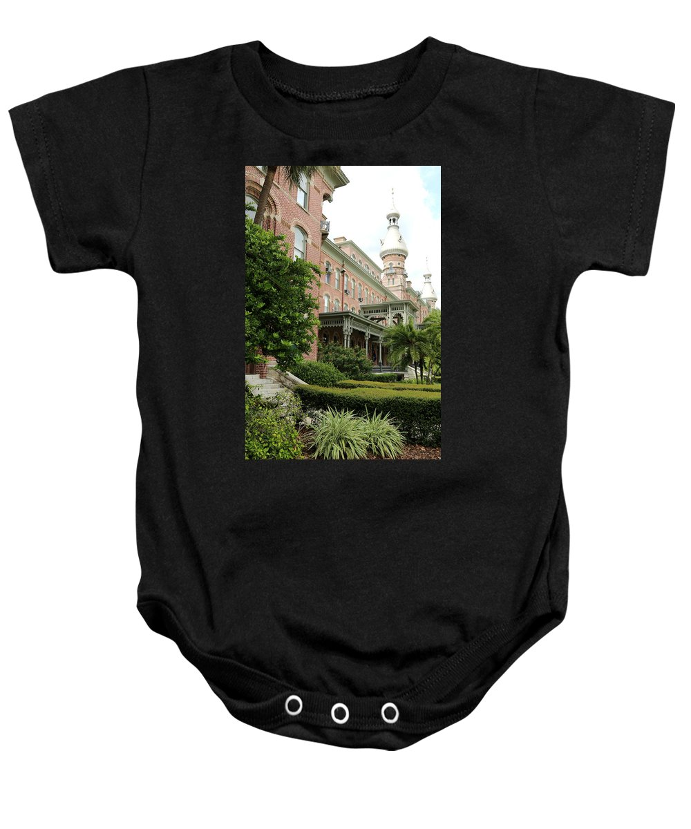 Tampa Baby Onesie featuring the photograph Tampa Gem by Carol Groenen