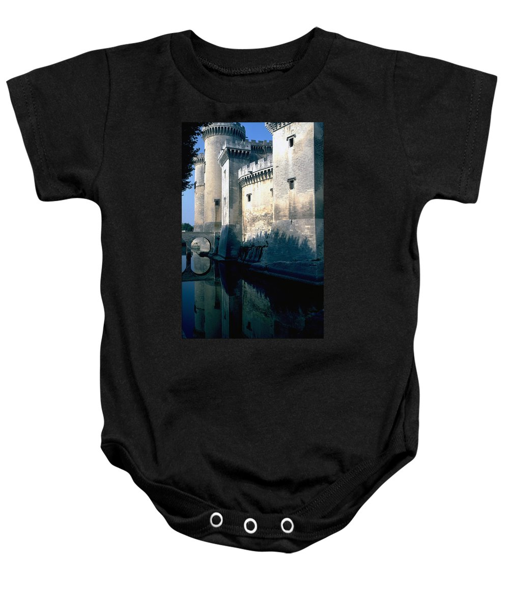 Tarragon France Castle Baby Onesie featuring the photograph Tarragon France by Flavia Westerwelle