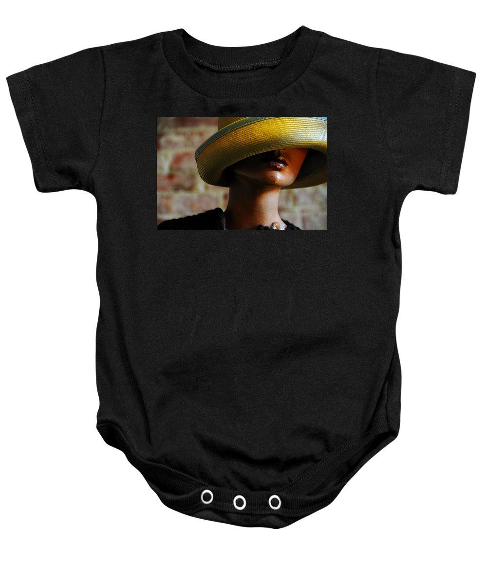 Aged Baby Onesie featuring the photograph Tel Aviv by Skip Hunt