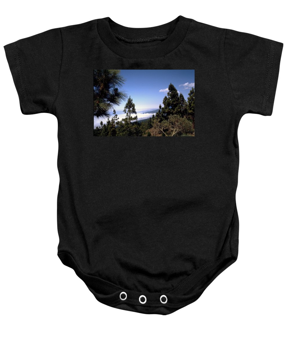 Tenerife Baby Onesie featuring the photograph Tenerife by Flavia Westerwelle