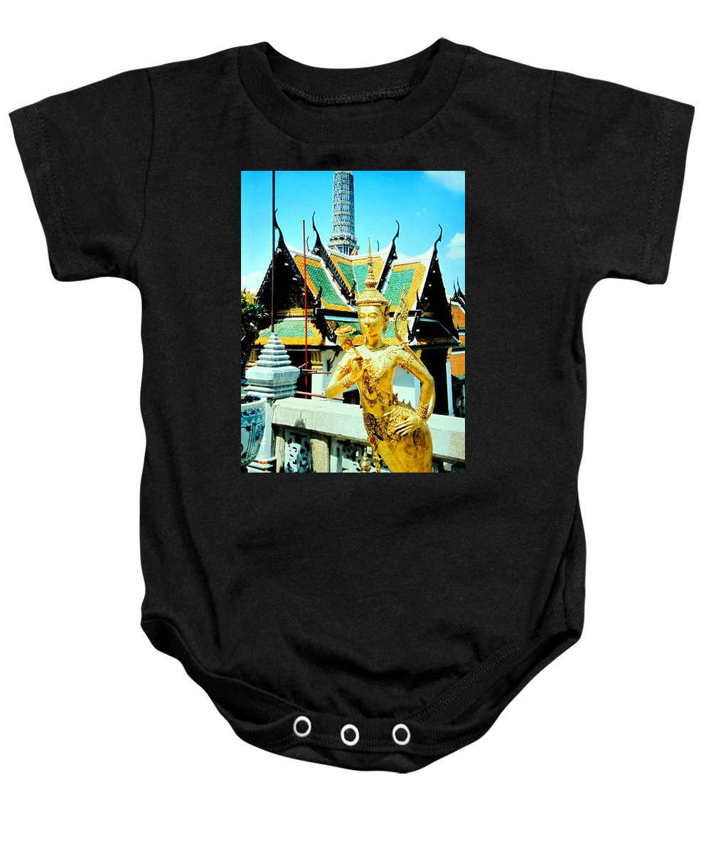 Bangcock Baby Onesie featuring the photograph Thailand by Ian MacDonald