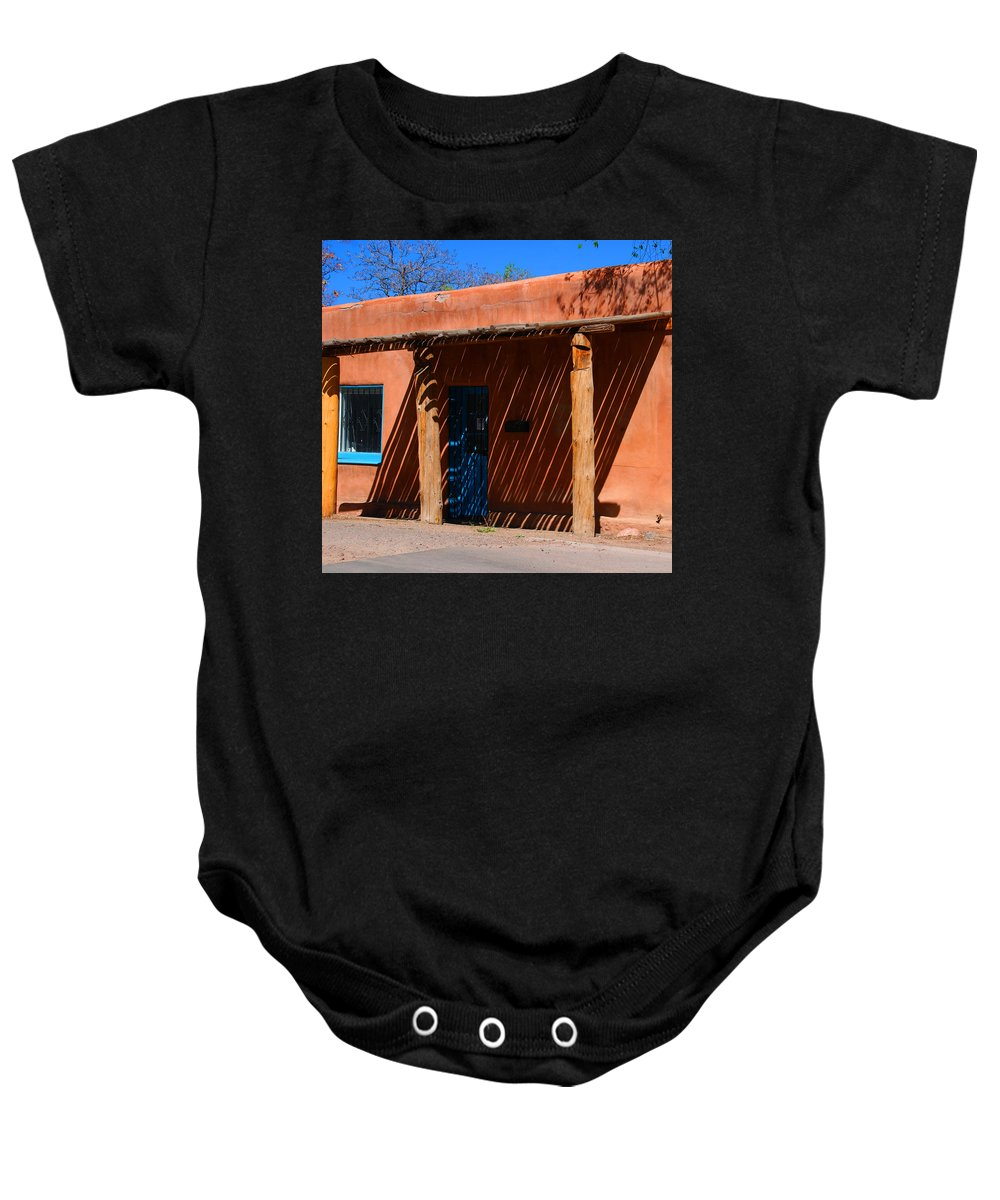 Santa Fe Baby Onesie featuring the photograph The Big Shade by Susanne Van Hulst