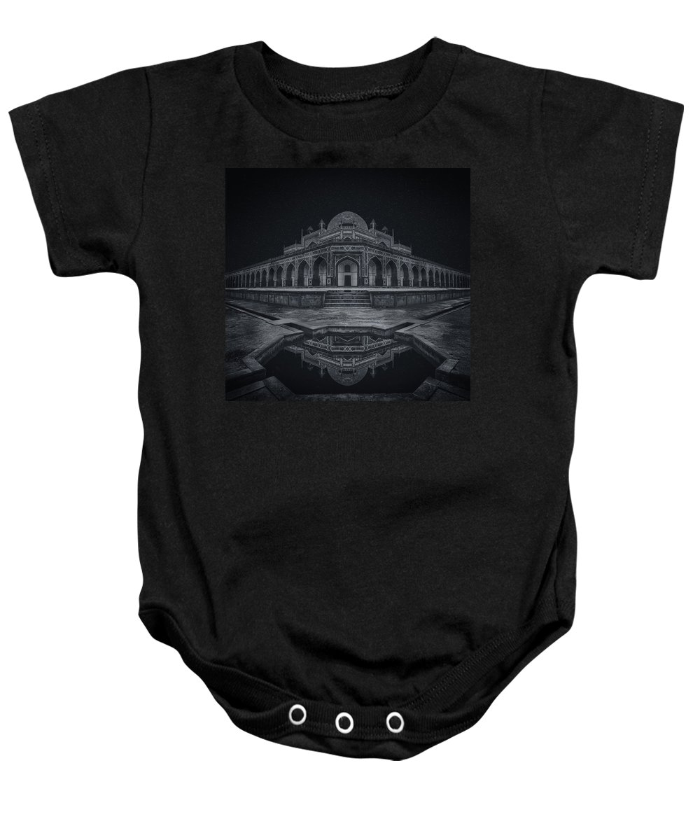 India Baby Onesie featuring the photograph The Calm Of Night by Kumar Annamalai