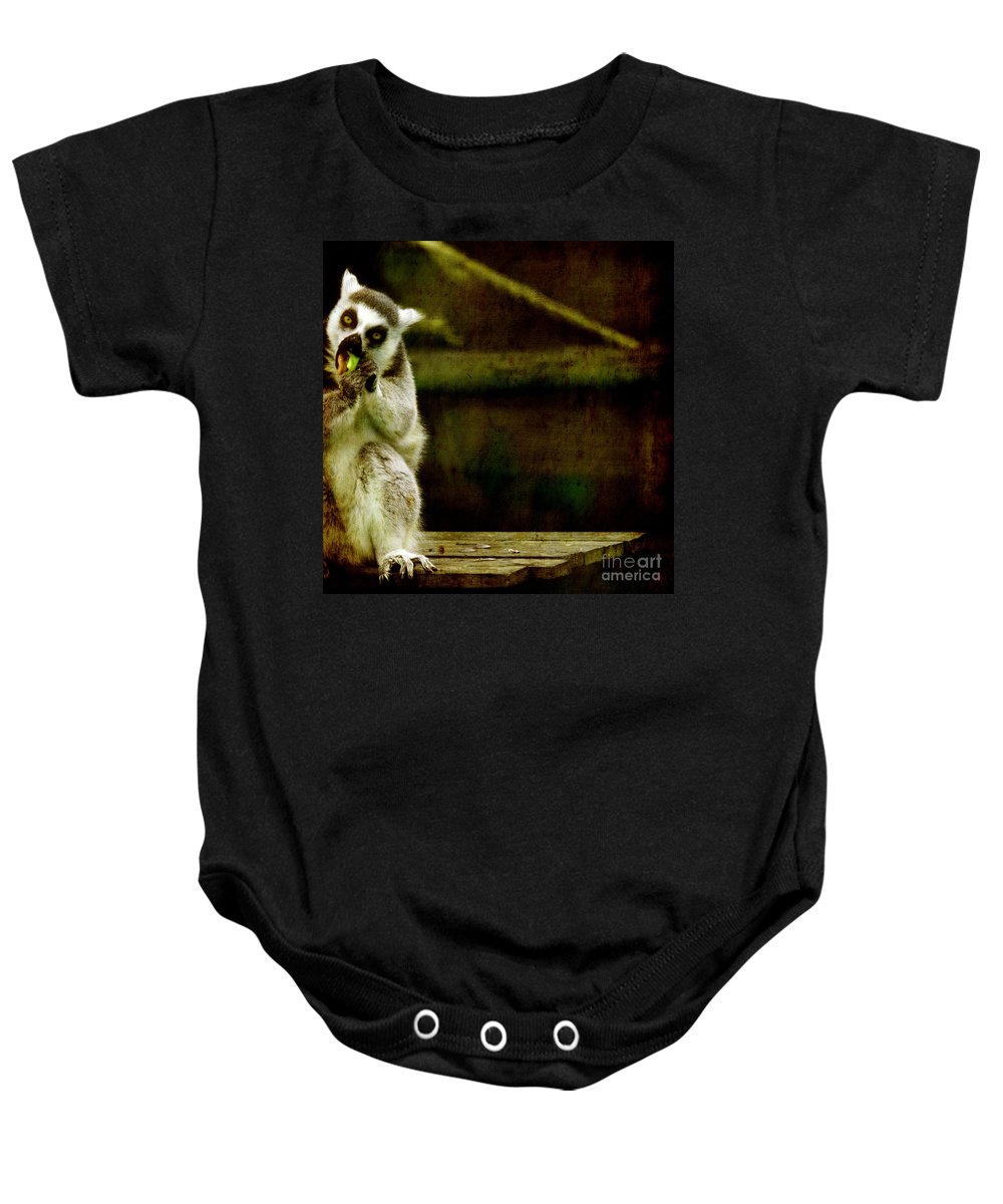 Lori Baby Onesie featuring the photograph The Lori by Angel Ciesniarska