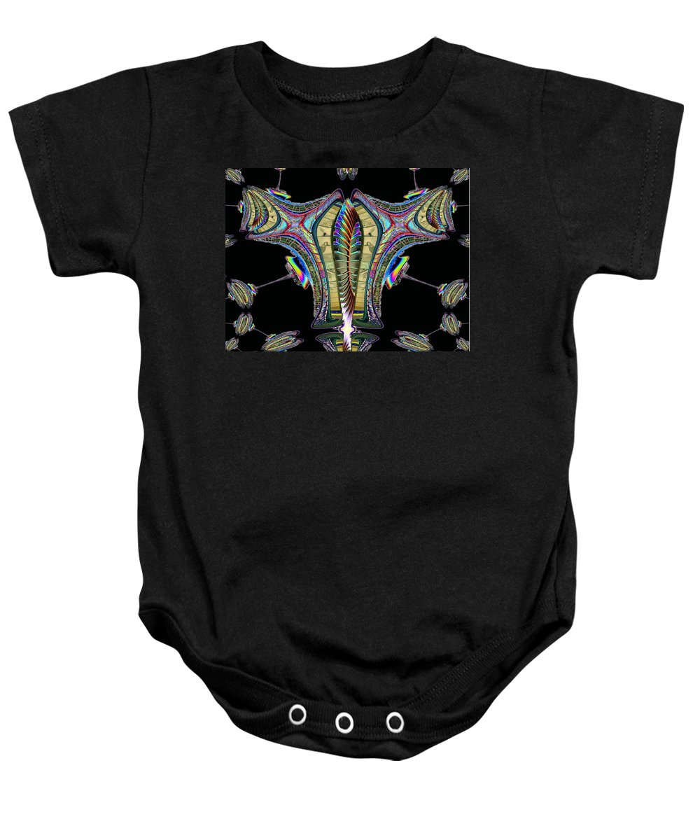 Seattle Baby Onesie featuring the photograph The Needle Ties One On 2 by Tim Allen