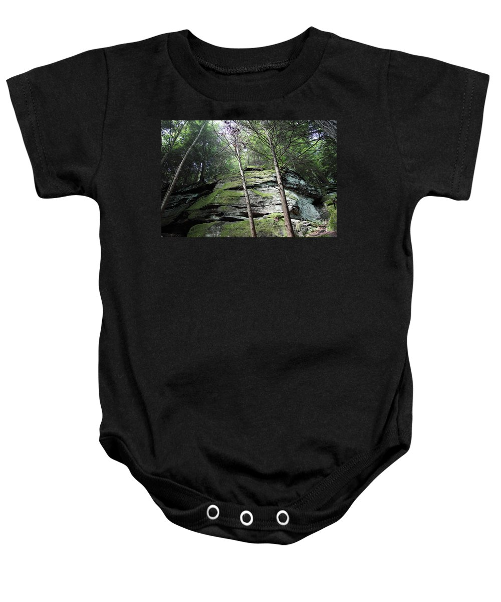 Nature Baby Onesie featuring the photograph The Original My Space by Amanda Barcon