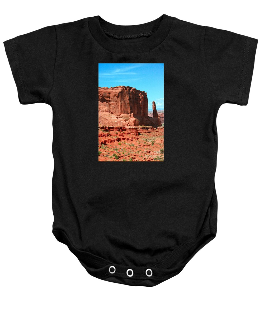 Park Avenue Baby Onesie featuring the painting The Park Avenue Courthouse Spectacle by Corey Ford