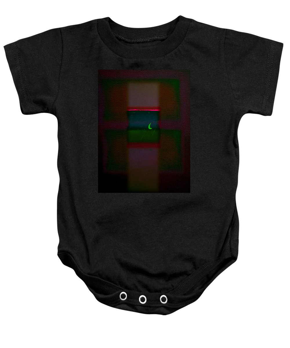 Rothko Baby Onesie featuring the painting The Pharoa's Dream by Charles Stuart