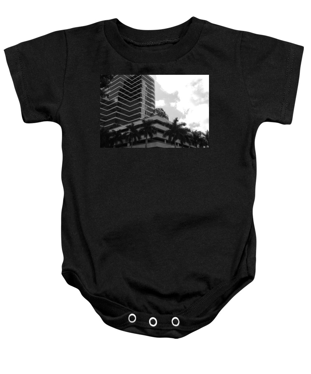 Architecture Baby Onesie featuring the photograph The Place To Be by Rob Hans