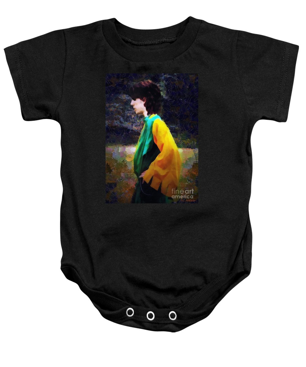 Building Baby Onesie featuring the painting The Rejected Suitor by RC DeWinter