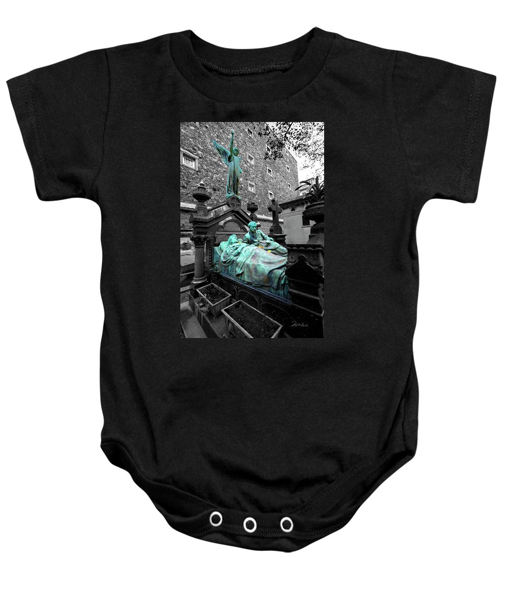 Photography Baby Onesie featuring the photograph Those Darn Neighbors by Frederic A Reinecke
