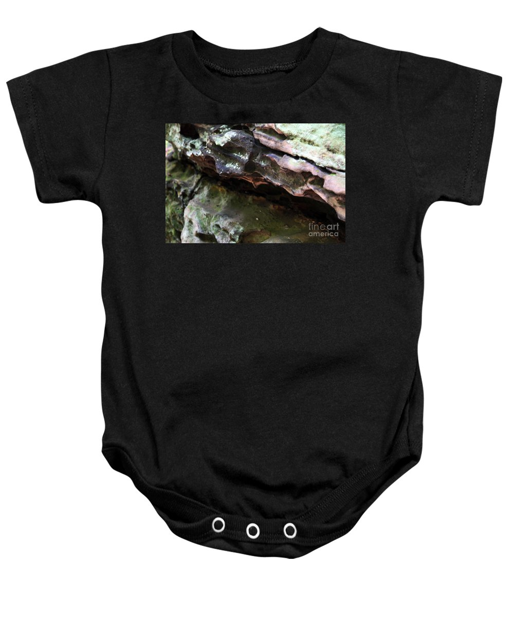 Mountainous Baby Onesie featuring the photograph Thoughts by Amanda Barcon