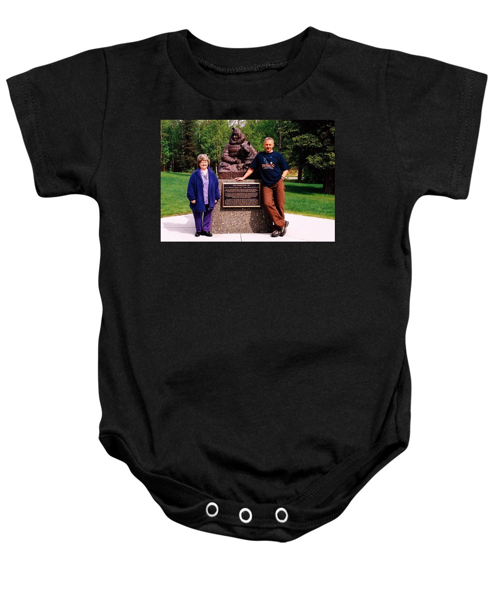North America Baby Onesie featuring the photograph Three Champions ... by Juergen Weiss