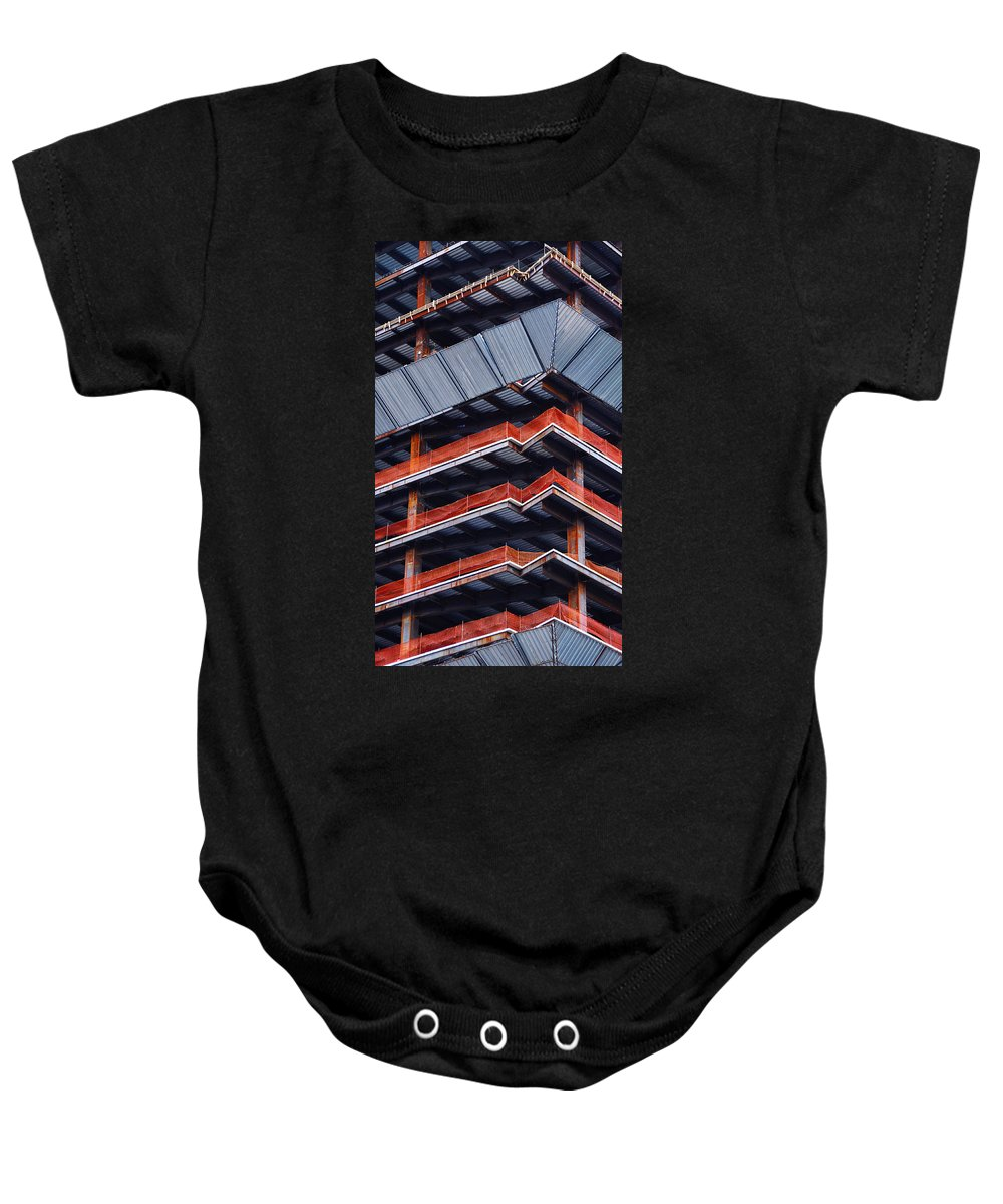 Thunder Dome Df Baby Onesie featuring the photograph Thunder Dome Df by Skip Hunt