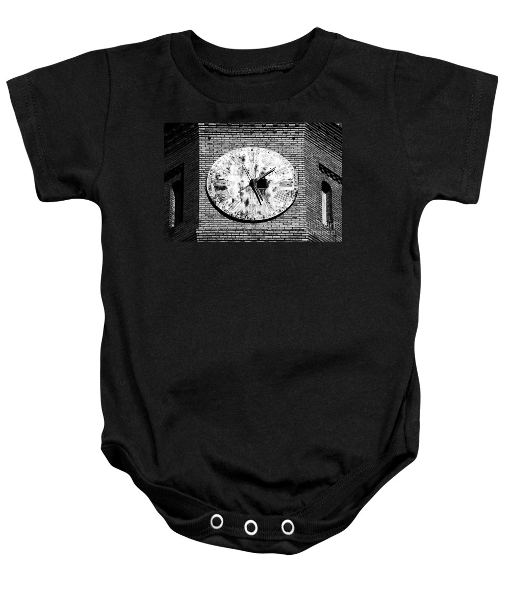 Time Baby Onesie featuring the photograph Time by David Lee Thompson
