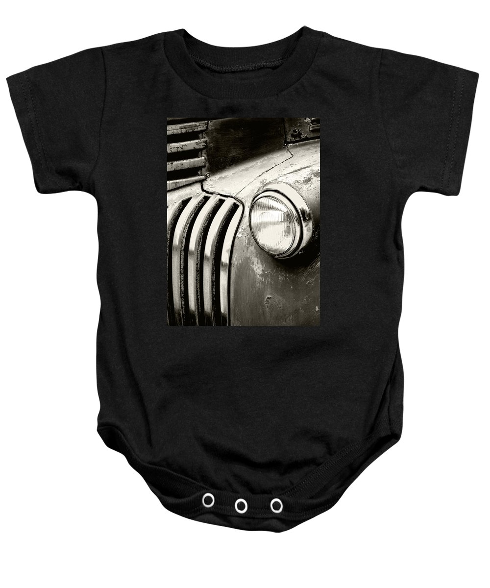 Cars Baby Onesie featuring the photograph Time Traveler by Holly Kempe