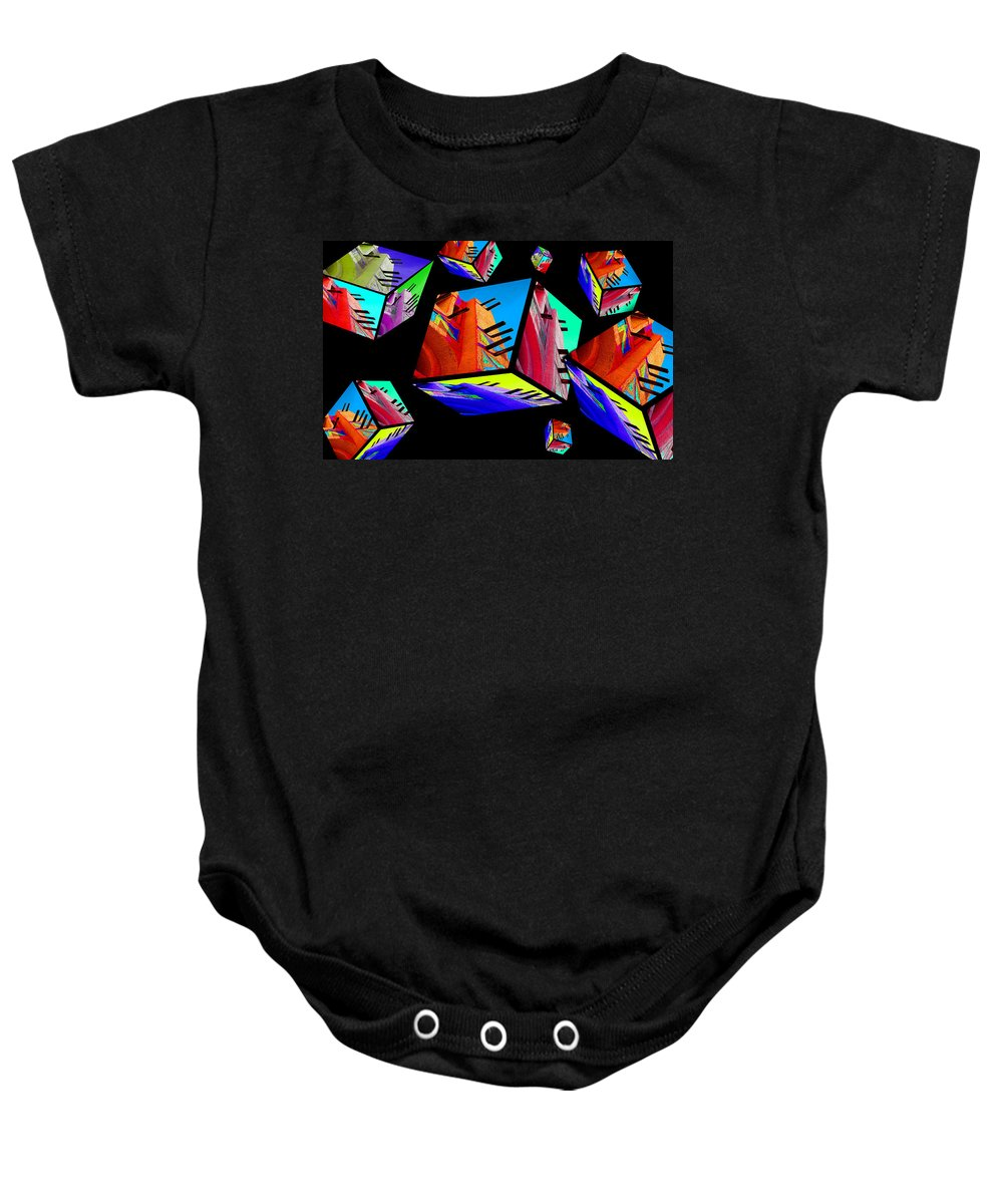 Colours Baby Onesie featuring the photograph Tinbuck3 by Robert Meanor