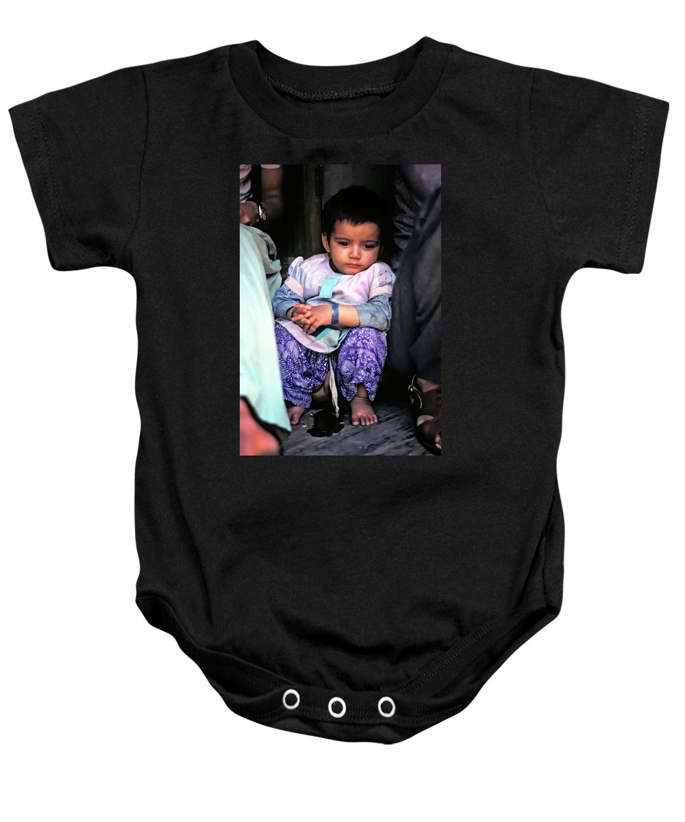 India Baby Onesie featuring the photograph Tiny Tinkler by Steve Harrington