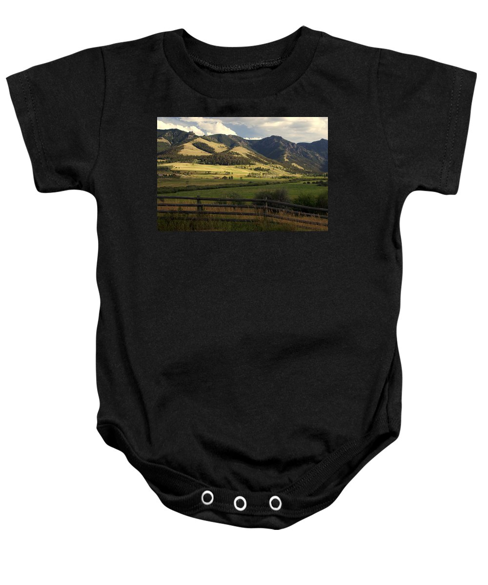 Landscapes Baby Onesie featuring the photograph Tom Miner Vista by Marty Koch