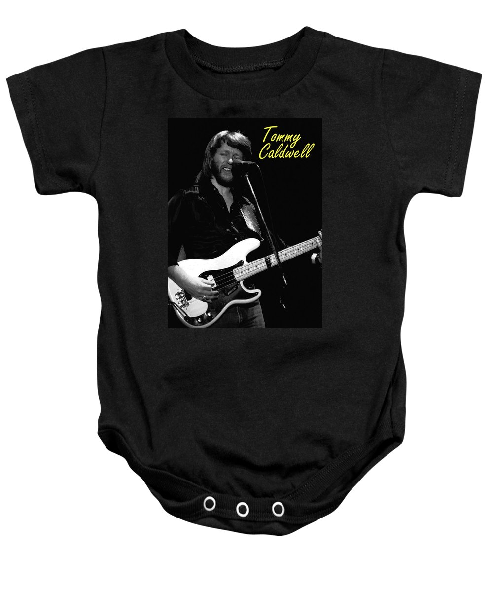 Marshall Tucker Baby Onesie featuring the photograph Tommy Caldwell In Spokane 2 by Ben Upham