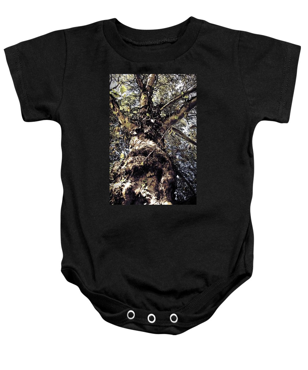 Tree. Forest. Leaf Baby Onesie featuring the photograph Topiary by Scott Wyatt