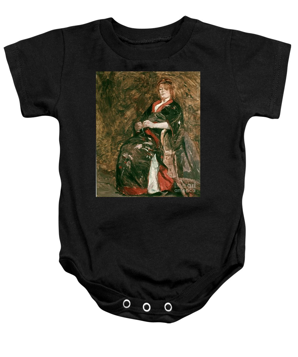 1888 Baby Onesie featuring the photograph Toulouse-lautrec, 1888 by Granger