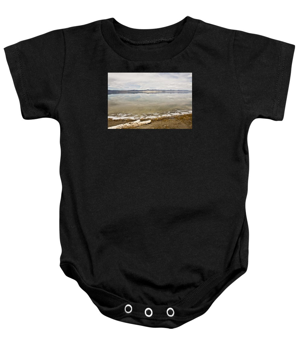 Landscape Baby Onesie featuring the photograph Tranquility by Jessica Fong