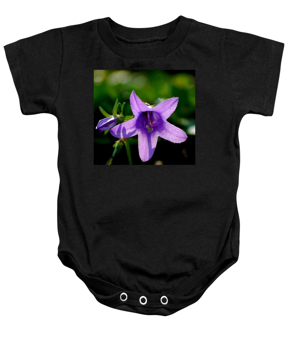 Digital Photography Baby Onesie featuring the digital art Translucent by David Lane