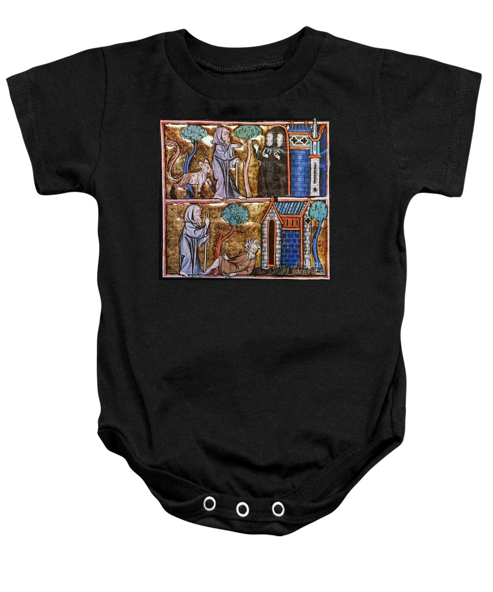 14th Century Baby Onesie featuring the photograph Travels Of Merlin by Granger