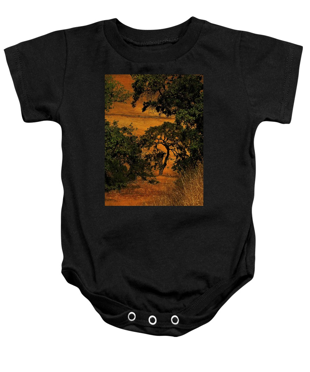 Trees Baby Onesie featuring the photograph Tree Formation by Karen W Meyer