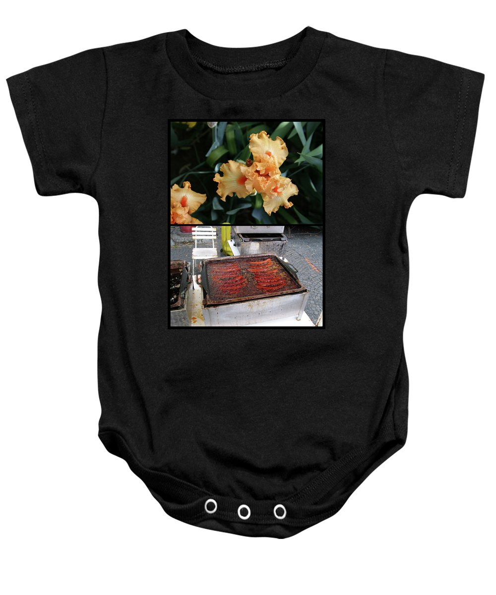 Trinity Baby Onesie featuring the photograph Trinity by James W Johnson