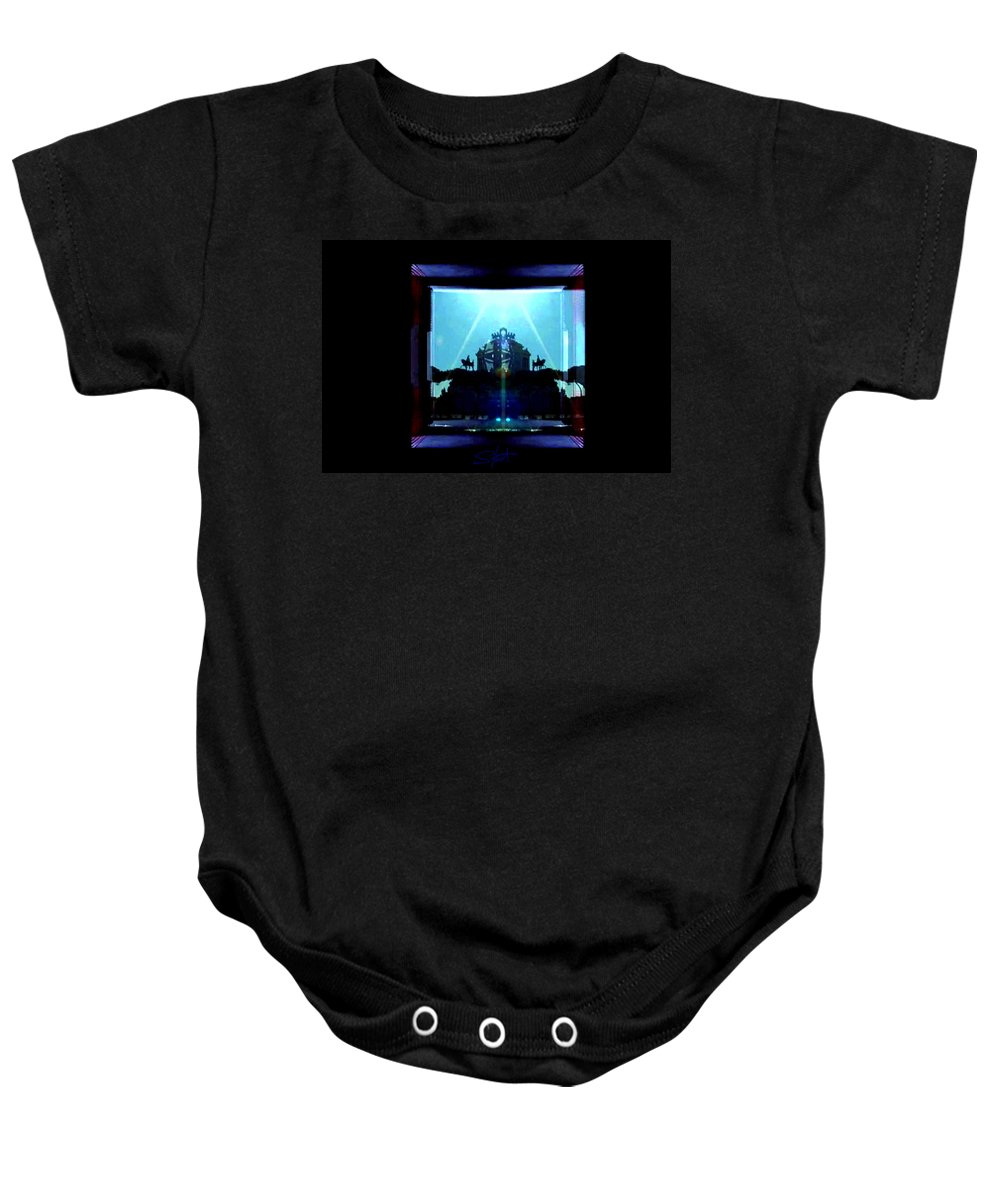 Dream Baby Onesie featuring the photograph Triumph In Rome by Charles Stuart