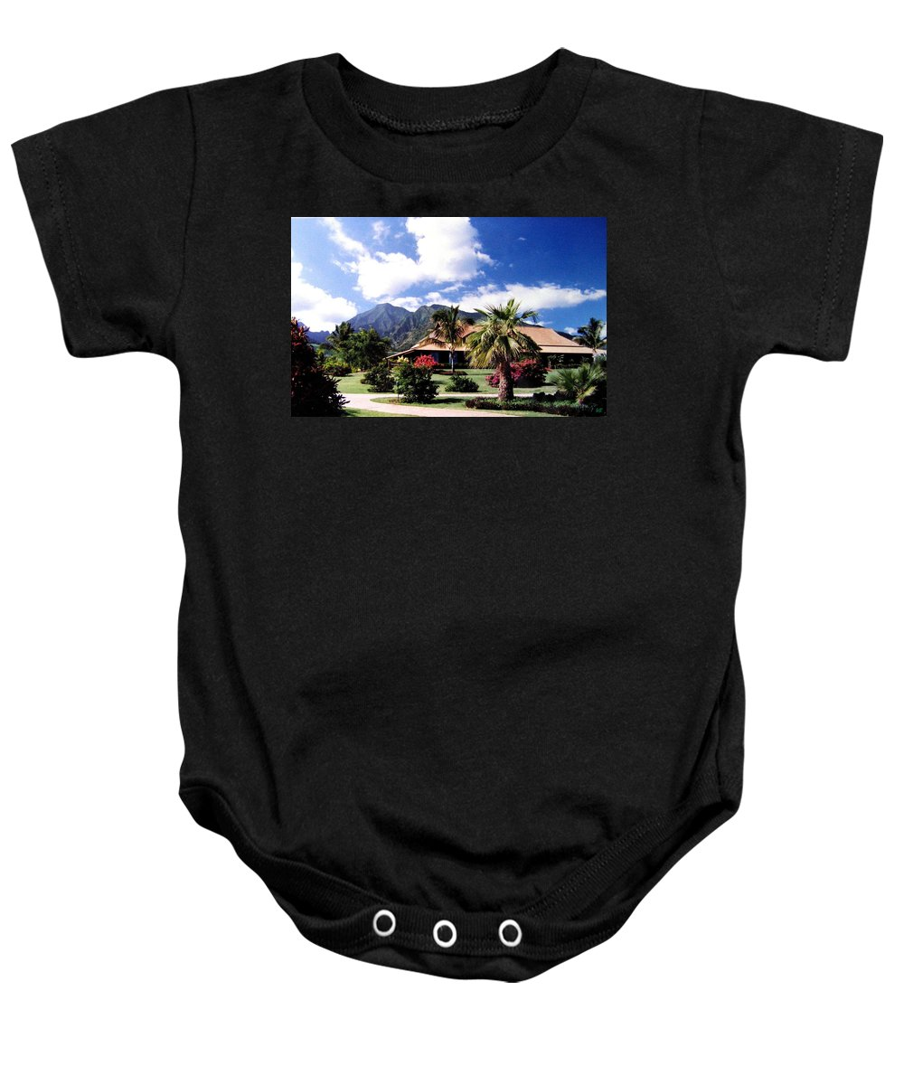 1986 Baby Onesie featuring the photograph Tropical Plantation by Will Borden
