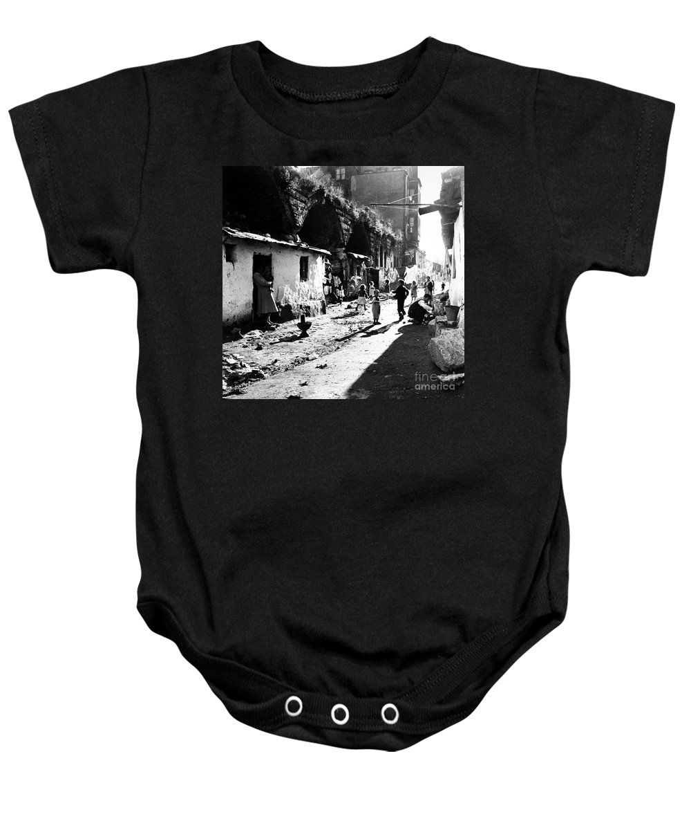 1952 Baby Onesie featuring the photograph Turkey: Istanbul, 1952 by Granger