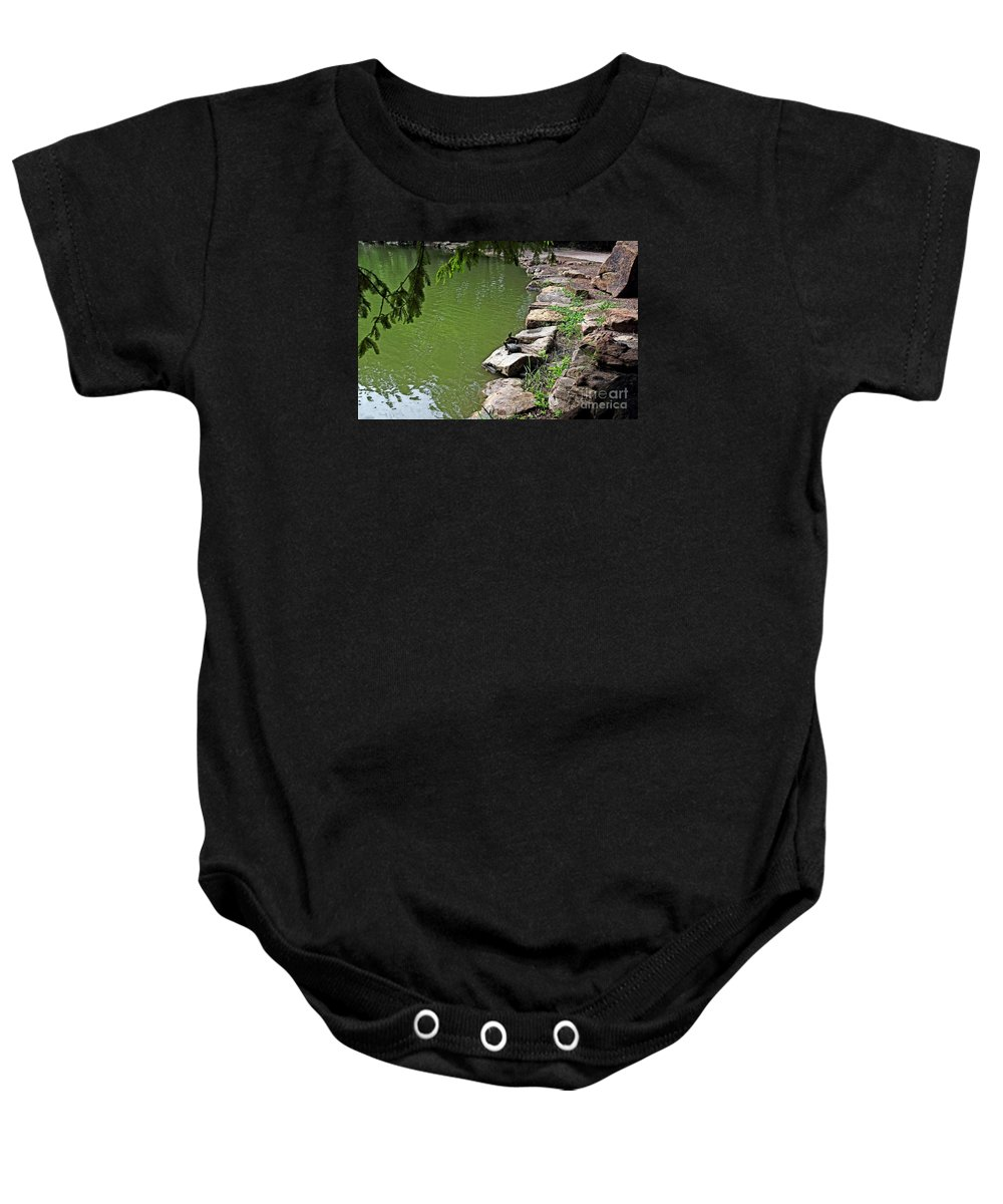 Nature Baby Onesie featuring the photograph Turtles 7832 by Earl Johnson