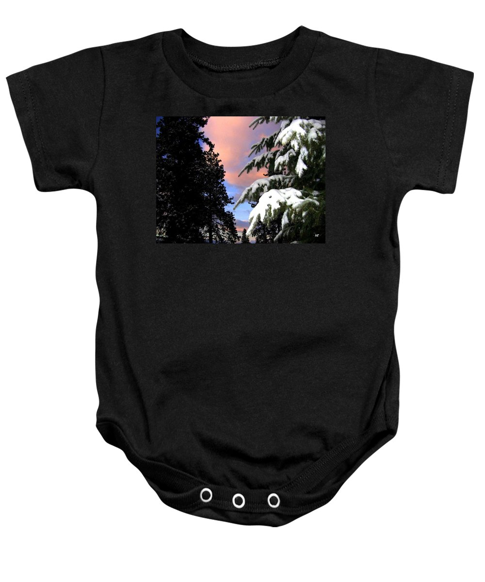 Sunset Baby Onesie featuring the photograph Twilight Hour by Will Borden