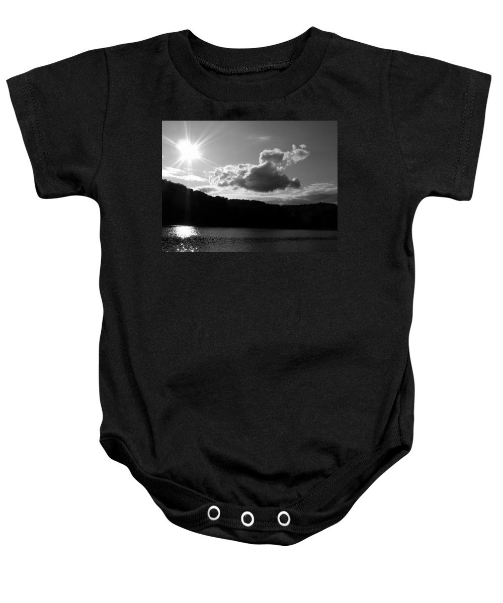 Trees Baby Onesie featuring the photograph Twin Sons by Ed Smith