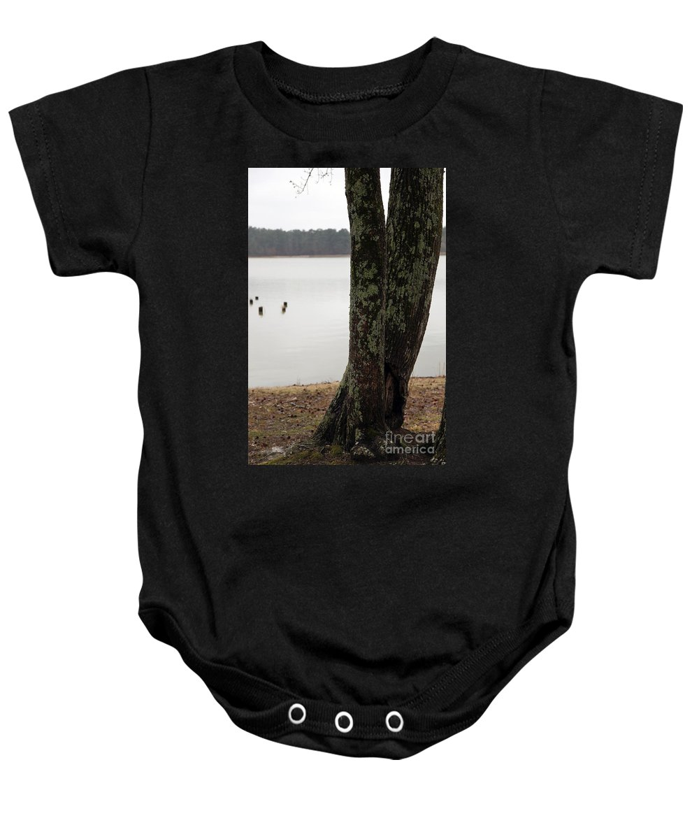 Tree Baby Onesie featuring the photograph Twist by Amanda Barcon