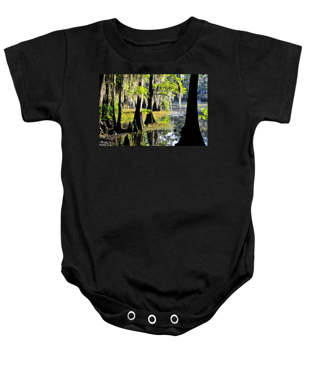 Skip Hunt Baby Onesie featuring the photograph Uncertain by Skip Hunt