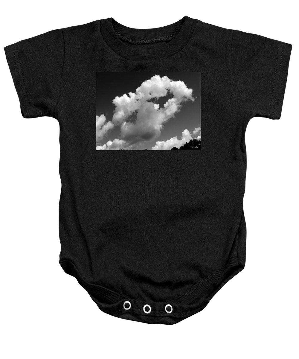 Under Dog Baby Onesie featuring the photograph Under Dog by Ed Smith