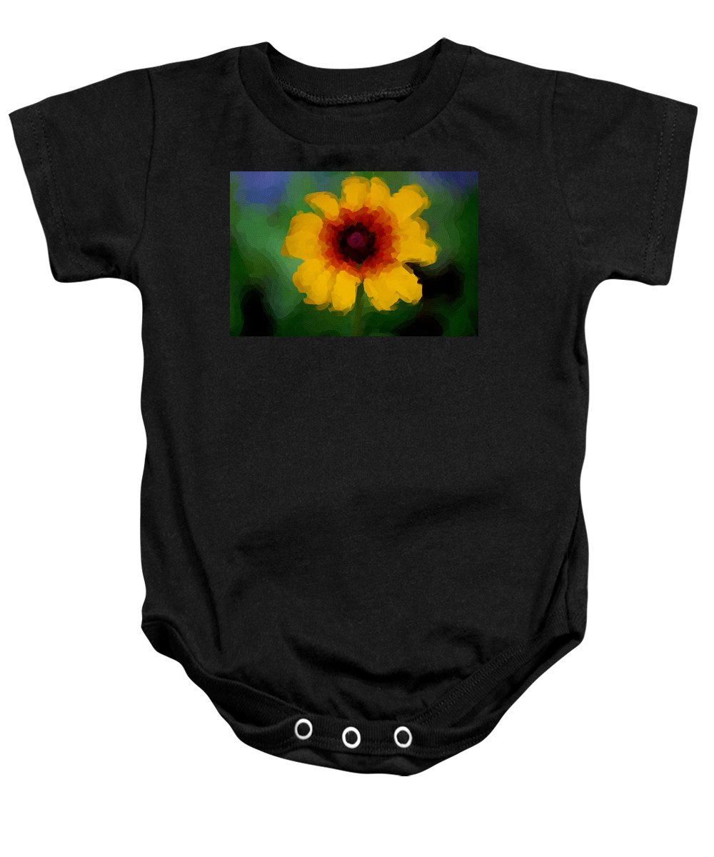 Digital Photograph Baby Onesie featuring the photograph Untitled 9-15-09 by David Lane