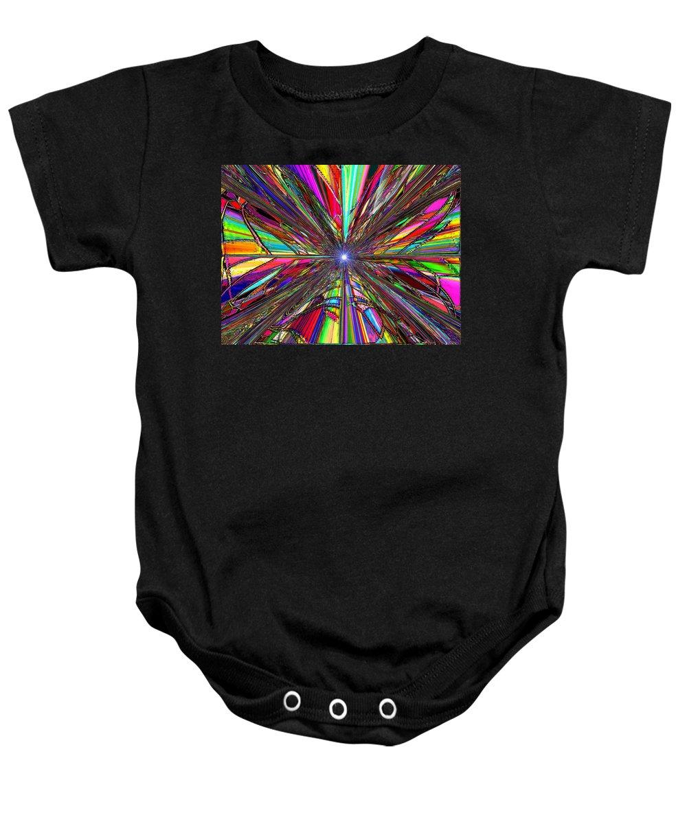 Up Baby Onesie featuring the digital art Up by Tim Allen