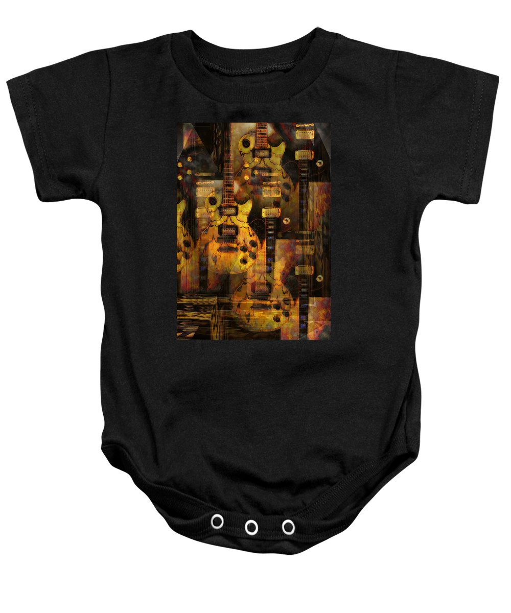 Guitar Baby Onesie featuring the photograph Use You Illusion by Bill Cannon