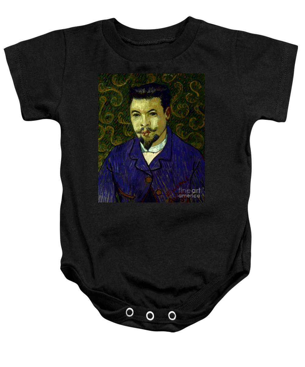 19th Century Baby Onesie featuring the photograph Van Gogh: Dr Rey, 19th C by Granger