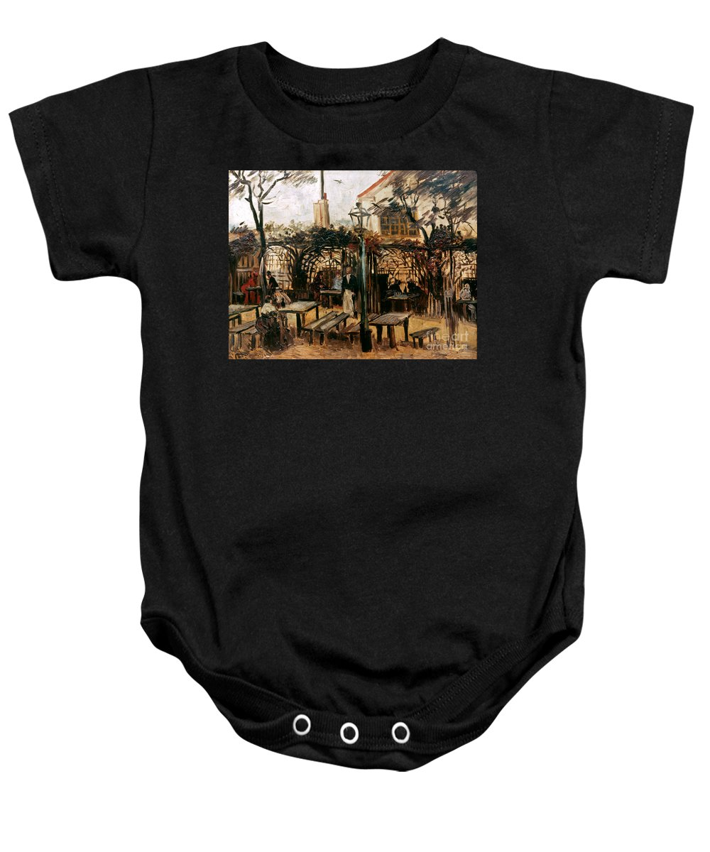 1886 Baby Onesie featuring the photograph Van Gogh: Guingette, 1886 by Granger